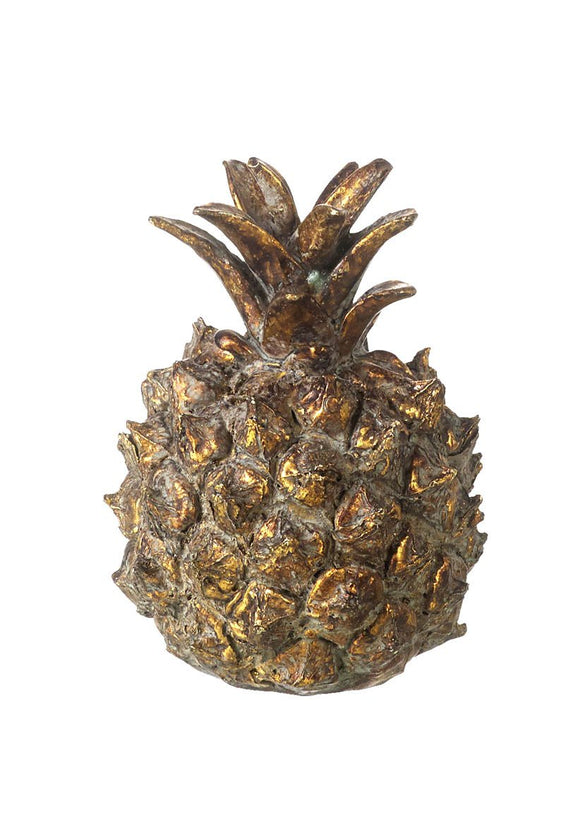 Antique Gold Pineapple 85mm x 55mm