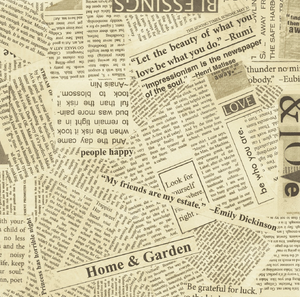 *Newspaper Greaseproof Paper (x12)