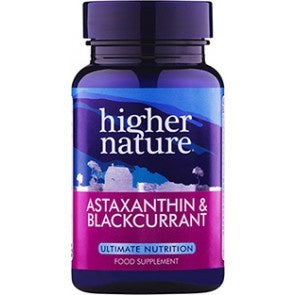 *H02-AST090 Higher Nature Astaxanthin and Blackcurrant