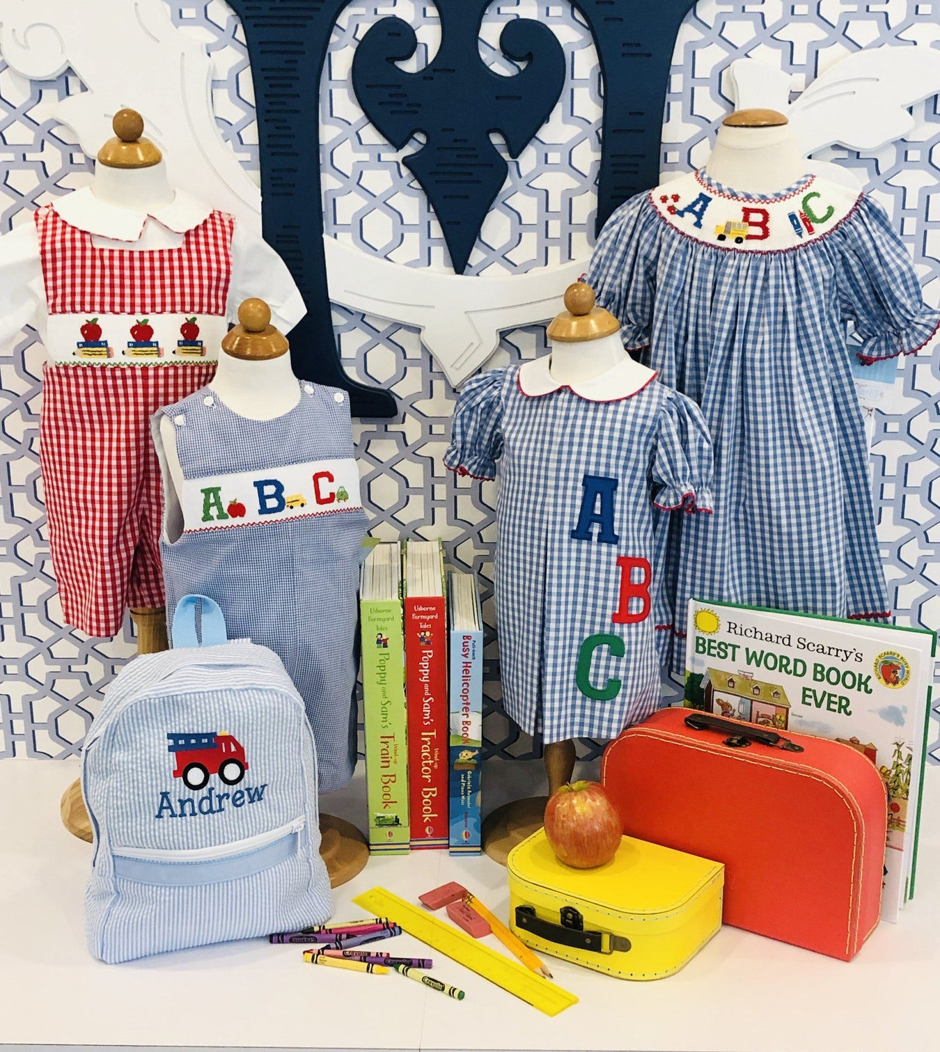 Children - Clothing - Back To School