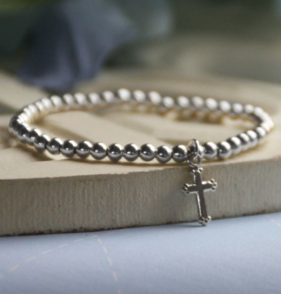 Baby Jewelry Jewelry Collectible's America Stretch Cross Bracelet