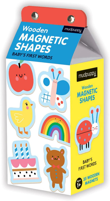 Baby's First Words Wooden Magnetic Shapes Activity Toys Hachette Book Group