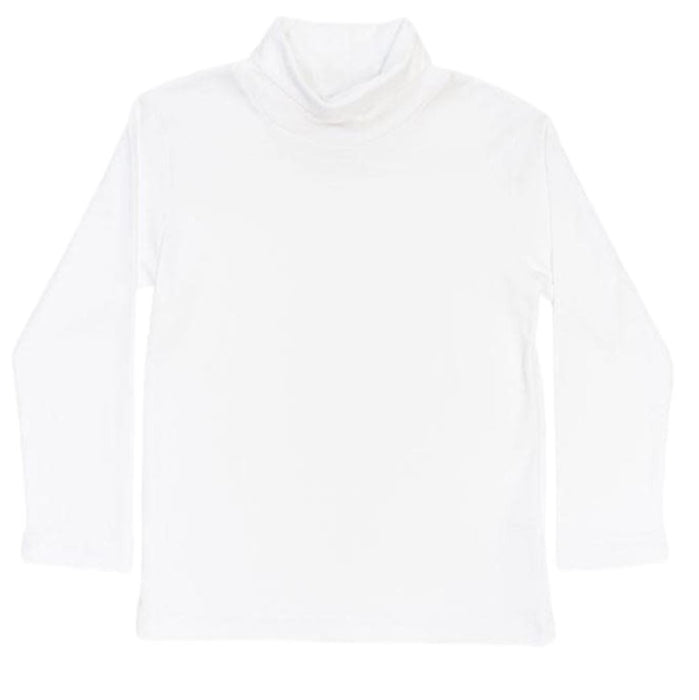Bailey Boys White T-Shirt shirts Bailey Boys Turtle Neck 6m