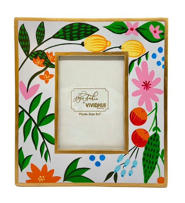Bamboo Photo Frame Frame Jayes Studio Floral Fruits 5 X 7