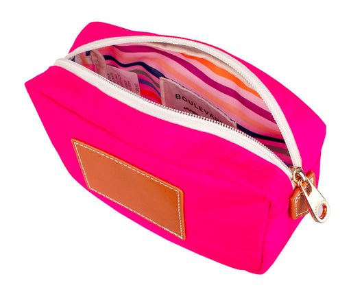 Billie Cosmetic Pouch Cosmetic/Accessories Bags Boulevard Hot Pink
