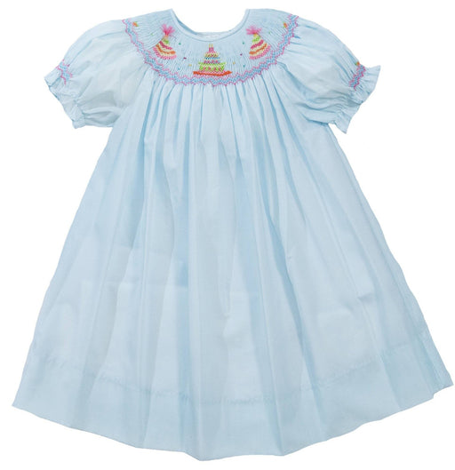 Birthday Cake Dress Dresses Rosalina Light Blue 12m