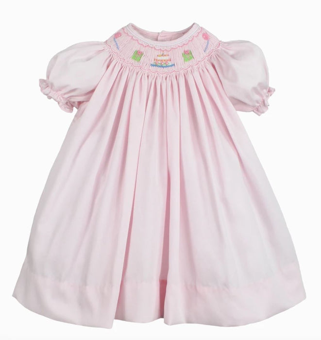 Birthday Smocked Dress Dresses Petite Ami
