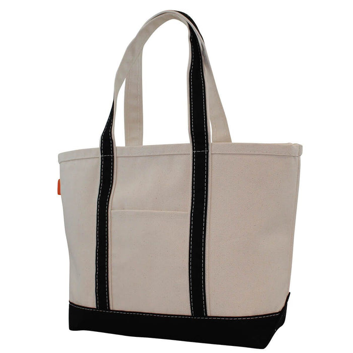 Boat Tote Totes CB Station Black Medium