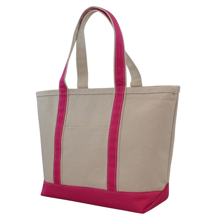 Boat Tote Totes CB Station Hot Pink Medium
