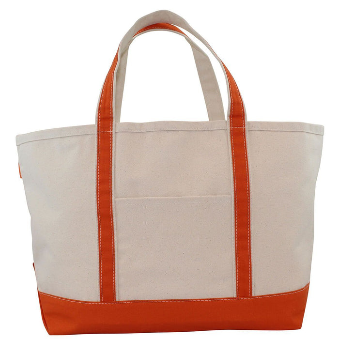 Boat Tote Totes CB Station Orange Large