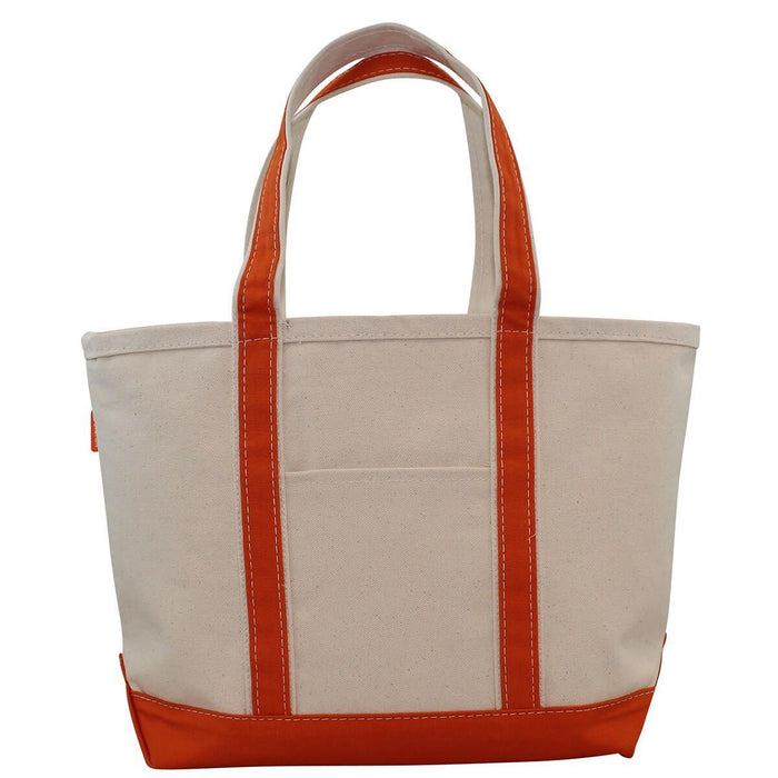 Boat Tote Totes CB Station Orange Medium