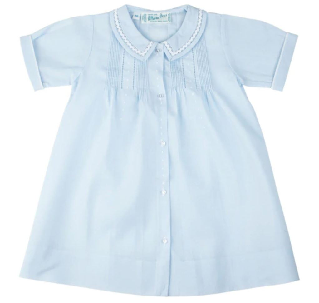 Boys Dot Folded Daygown Baby Gown Feltman Brothers