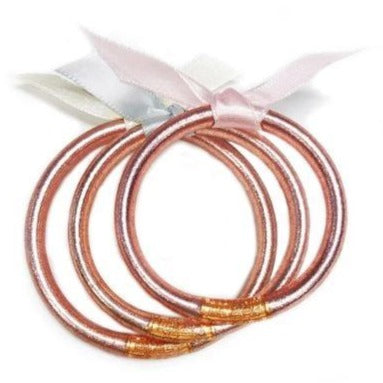 BUDHAGIRL Baby Bangles Jewelry BudhaGirl Rose Gold Small