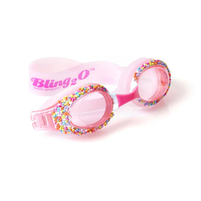 Cake Pop Swim Goggles Goggles Bling2O Angel Cake Pink