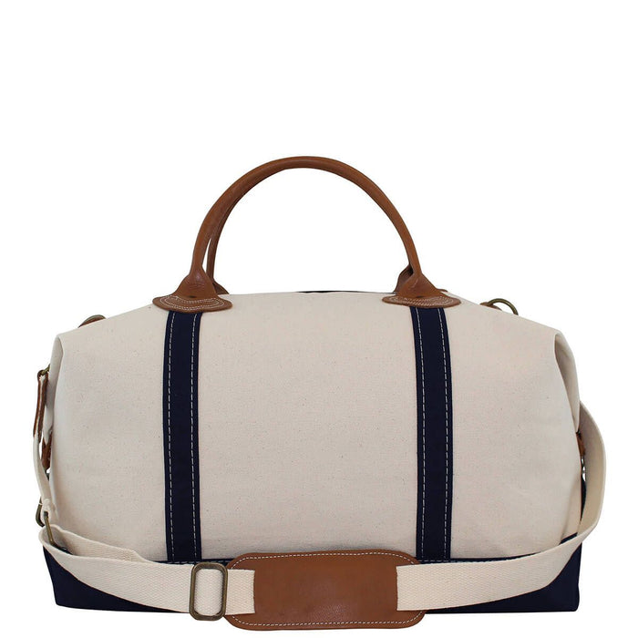 Canvas Weekender Duffles CB Station Navy