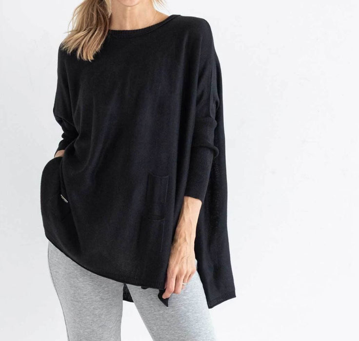 Catalina Sweater Sweaters MerSea Black