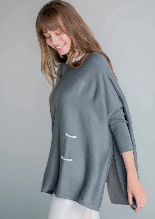 Catalina Sweater Sweaters MerSea Pewter
