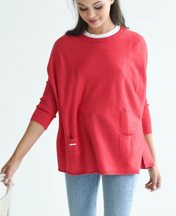 Catalina Sweater Sweaters MerSea Poppy