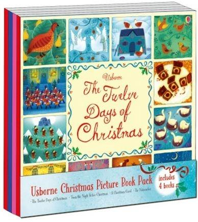 ******Christmas Picture Book - Pack of 4 Book Usborne