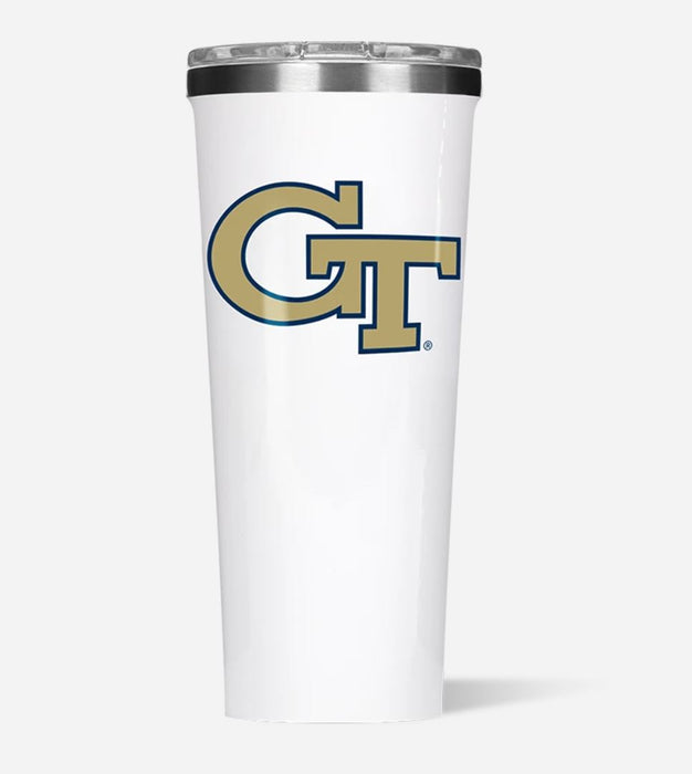 Collegiate Tumbler 24oz Drinkware Corkcicle Georgia Tech