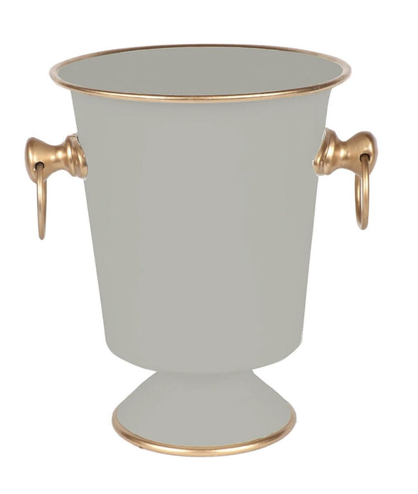 Color Block Ice Bucket Home Decor Jayes Studio Taupe