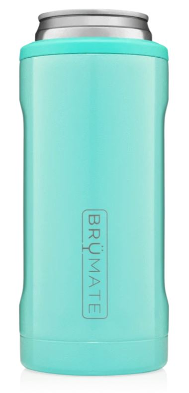 Colorful Hopsulator Slim Drinkware Brumate Aqua