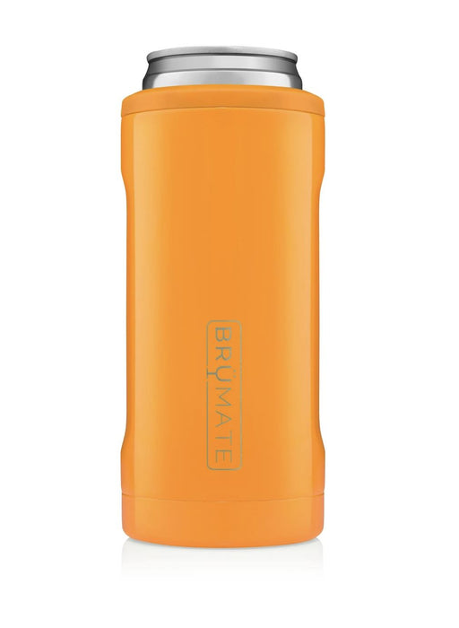 Colorful Hopsulator Slim Drinkware Brumate Hunter Orange