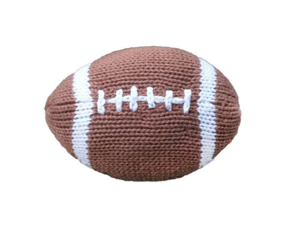 Crochet Football Dolls Zubels Small Football