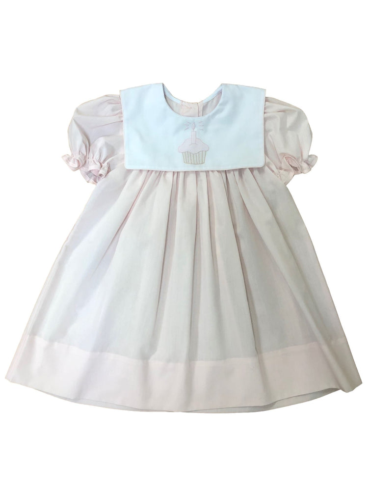 Cupcake Birthday Dress Dress Auraluz 12M
