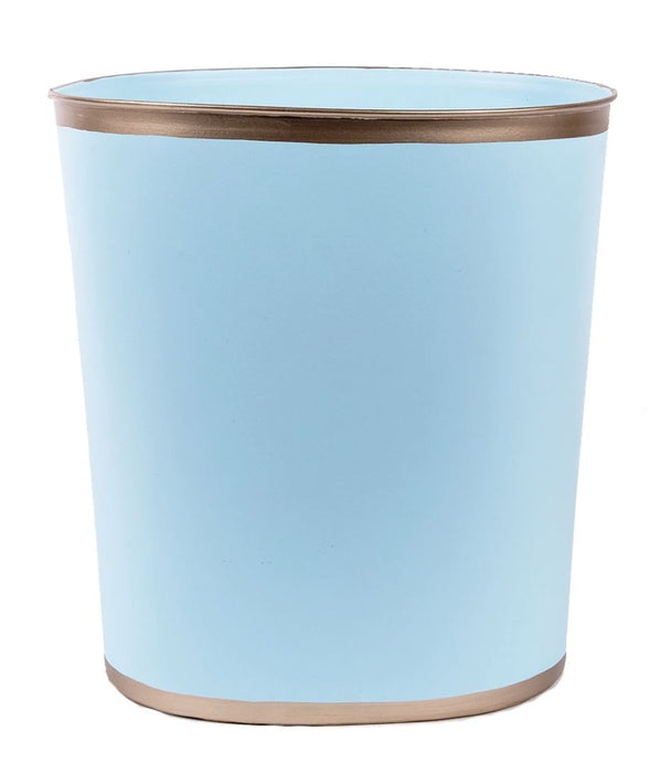 Decorative Trash Cans Home Decor Jayes Studio Light Blue