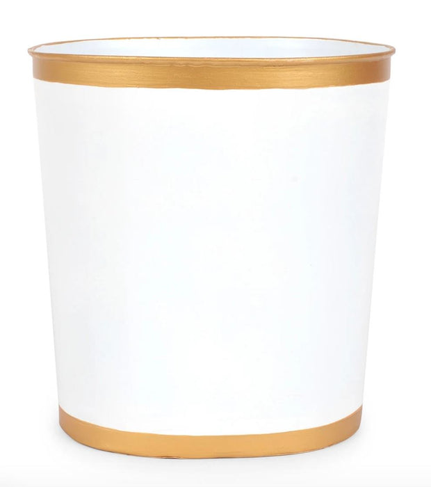 Decorative Trash Cans Home Decor Jayes Studio White