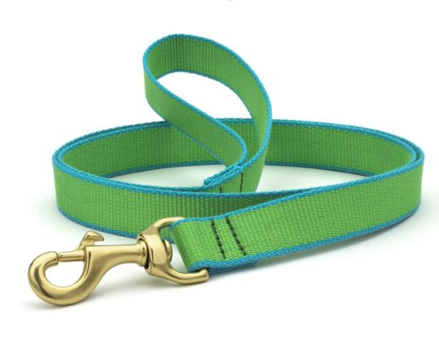Dog Leash Dog Upcountry Green/Light Blue