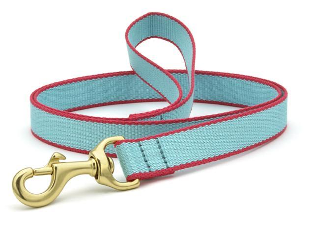 Dog Leash Dog Upcountry Light Blue/Coral