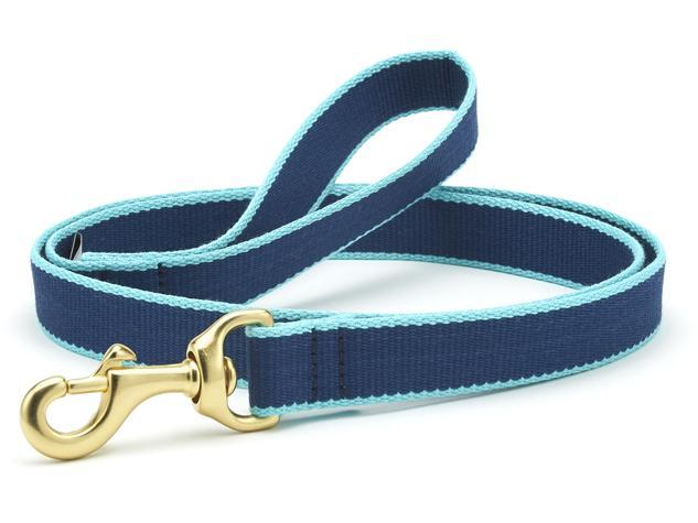 Dog Leash Dog Upcountry Navy/Light Blue
