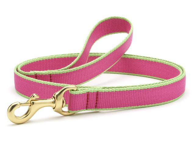 Dog Leash Dog Upcountry Pink/Green