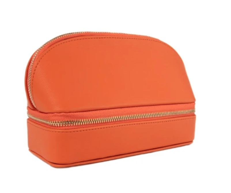 Duo Travel Organizer Cosmetic/Accessories Bags Brouk and Co Orange
