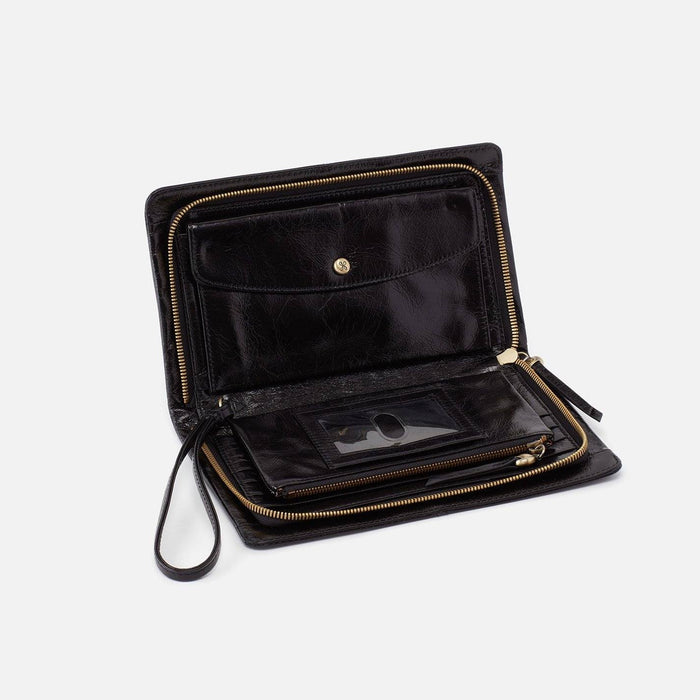 Evolve Continental Wallet Wallet Hobo Black