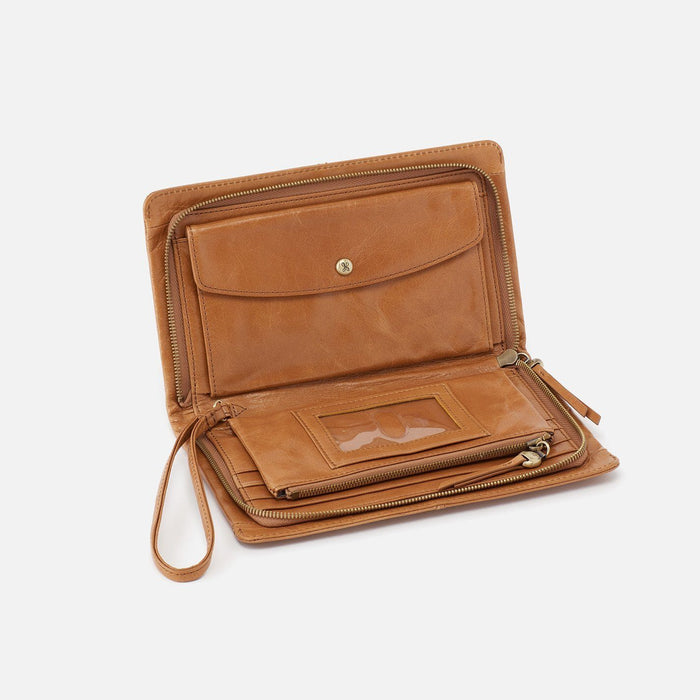 Evolve Continental Wallet Wallet Hobo Honey