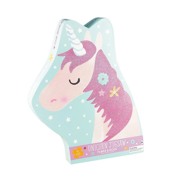 Fairy Unicorn Jigsaw - 40 Piece Puzzle Floss and Rock