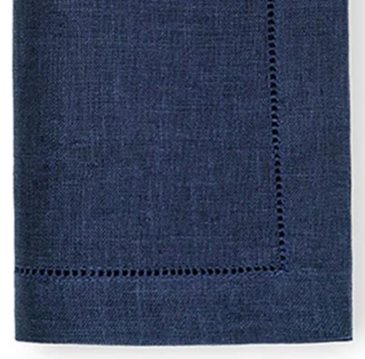 Festival Linen Cocktail Napkins - Set of 4 Cocktail Napkins Sferra Navy