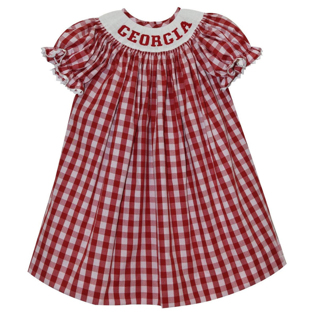 Georgia Smocked Bishop Dress Dress Vive La Fete