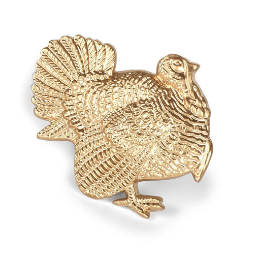 Gold Turkey Napkin Rings Home Decor Jayes Studio