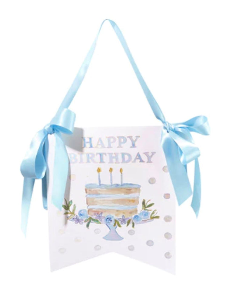 Happy Birthday Blue Hanger Stationery Over The Moon