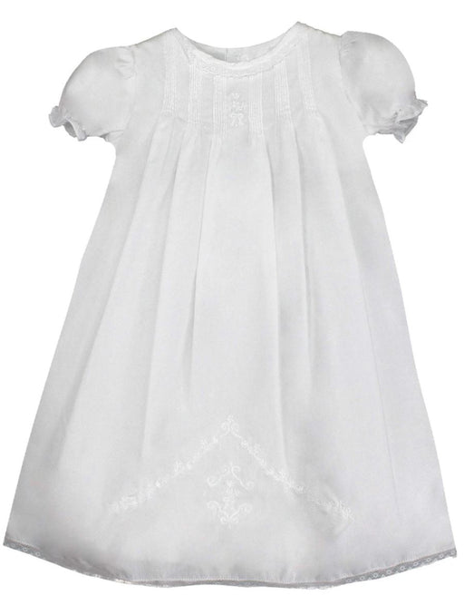 Heirloom Lace Hand Embroidered Daygown Baby Gown Petit Ami
