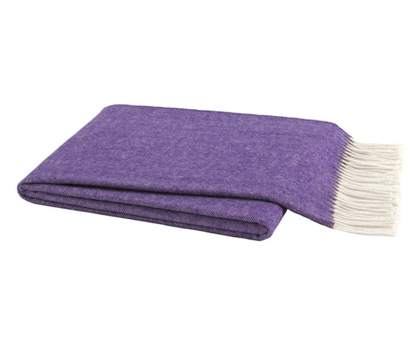 Herringbone Italian Throw Throws Lands Down Under Wisteria