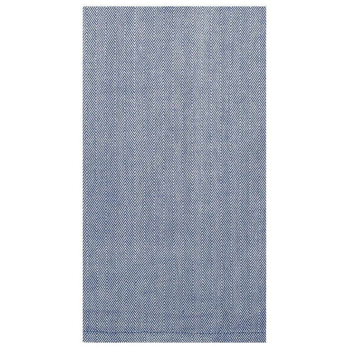 Herringbone Kitchen Towel Hand Towels C and F Enterprises Blue