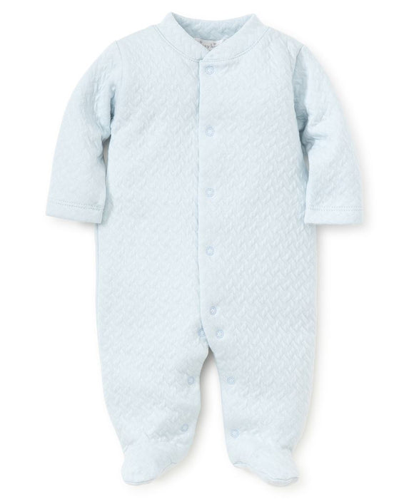 Jacquard Footie footie Kissy Kissy Light Blue NB