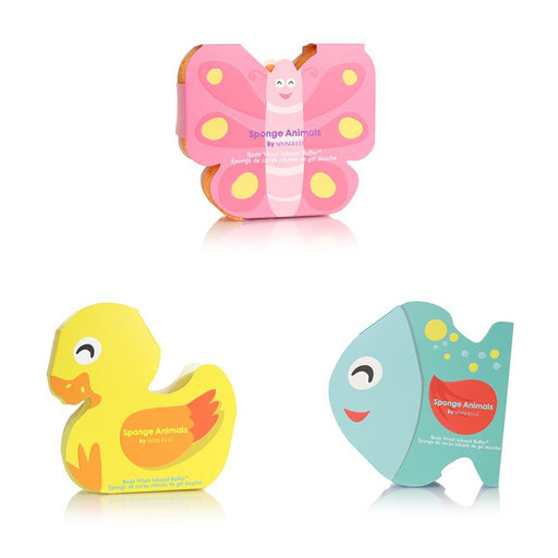 Kids Animal Bath Sponge Soap Spongelle