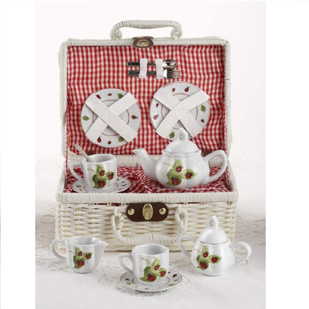 Lady Bug Children's Tea Set for Two Tea Set Delton Products