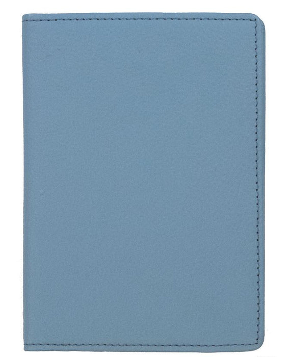 Leather Passport Holder Passport Holder Boulevard Sky